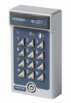 Vanderbilt  PP500-EM PROX & PIN READER