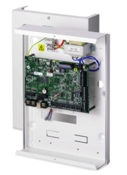 Siemens Vanderbilt SPC 4000 Alarmzentrale IP  Metallboden Kunststoffabdeckung MP 3