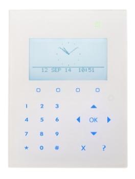 Siemens Vanderbilt Kompakt LCD Smart Bedienteil mit Kartenleser
